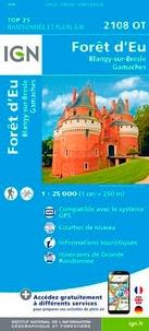 IGN - Forêt d'Eu/Blangy-sur-Bresle, Gamaches.