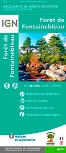 IGN - Forêt de Fontainebleau - 1/16 000.