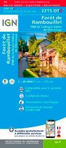 IGN - Forêt de Rambouillet, PNR de La Haute Vallée de Chevreuse - 1/25 000, plastifiée-résistante.