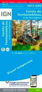 Forêts de Fontainebleau et des Trois Pignons - 1/25 000, plastifiée-résistante.pdf