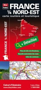 France 1/4 Nord-Est - Carte routière et touristique.pdf