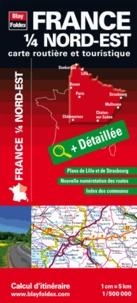 Blay-Foldex - France 1/4 Nord-est - 1/500 000.