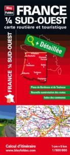 Blay-Foldex - France 1/4 Sud-Ouest - 1/500 000.