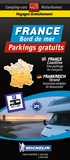 Trailer's Park - France bord de mer - Parkings gratuits. 1/450 000.