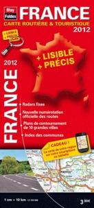 Blay-Foldex - France carte routière & touristique 2012.
