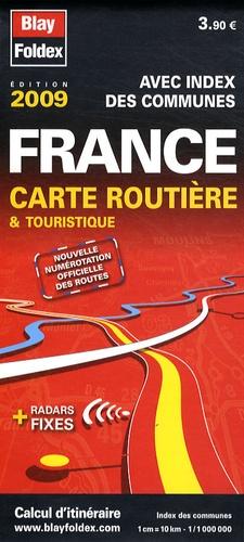 Blay-Foldex - France carte routière & touristique - 1/1 000 000.
