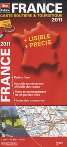 Blay-Foldex - France, carte routière & touristique - 1/1 000 000.