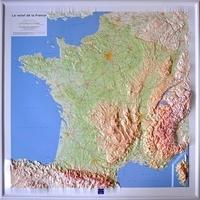 IGN - France générale - Carte en relief 1/1 200 000.