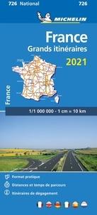 Michelin - France grands itinéraires - 1/1 000 000.