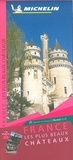 Michelin - France les plus beaux châteaux - 1/1 000 000.
