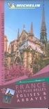 Michelin - France les plus belles églises et abbayes - 1/1 000 000.