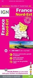IGN - France Nord-Est - 1/320 000.