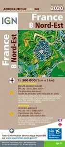 IGN - France Nord-Est - 1/500 000.