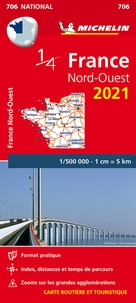 Michelin - France Nord-Ouest - 1/500 000.