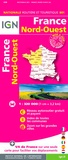 IGN - France Nord-Ouest - 1/320 000.