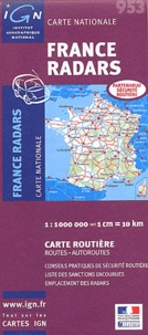 IGN - France radars - 1/1 000 000e.