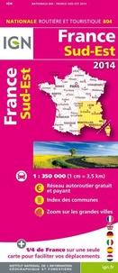 IGN - France Sud-Est - 1/350 000.