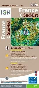 IGN - France Sud-Est - 1/500 000.