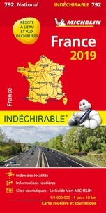 Michelin - France - 1/1 000 000 - indéchirable.
