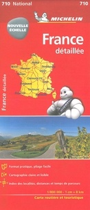 Michelin - France - 1/800 000.