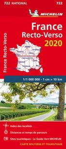 Michelin - France - 1/1 000 000, Recto-verso.