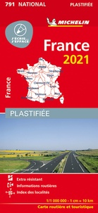 Michelin - France - 1/1 000 000, plastifiée.