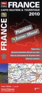 Blay-Foldex - France - Carte routière & touristique plastifiée 1/1 000 000.