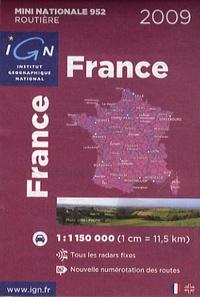 IGN - France - 1/1 150 000.
