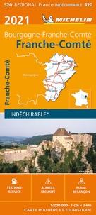 Michelin - Franche-Comté - 1/200 000.
