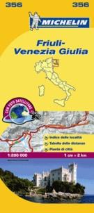Michelin - Friuli-Venezia Giulia - 1/200 000.