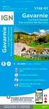 IGN - Gavarnie, Luz-Saint-Sauveur, Parc national des Pyrénées - 1/25 000.