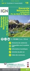 IGN - Gavarnie Neouvielle Luchonnais Pic du Midi de Bigorre - 1/75 000.