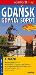 Express Map - Gdansk, Gdynia, Sopot - 1/26 000.