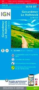 IGN - Gérardmer, Le Hohneck, La Bresse - 1/25 000.