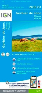 IGN - Gerbier de Jonc, Mézenc, Vivarais - 1/25 000.