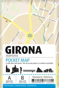 Triangle Postals - Gerone pocket map.