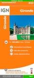 IGN - Gironde - 1/150 000.