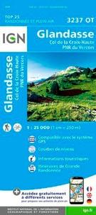 IGN - Glandasse, Col de la Croix-Haute, PNR du Vercors - 1/25 000.