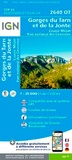 IGN - Gorges du Tarn et de la Jonte, Causse Méjan, PN des Cévennes - 1/25 000.