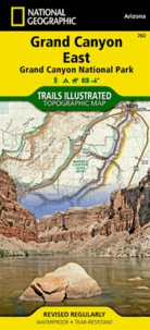 National Geographic - Grand Canyon East - 1/90 000.