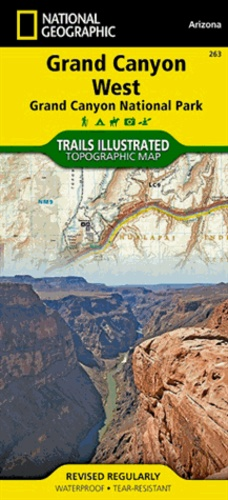 National Geographic - Grand Canyon West - 1/90 000.