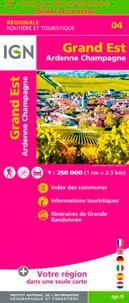 IGN - Grand Est, Ardenne-Champagne - 1/250 000.