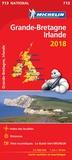 Michelin - Grande-Bretagne, Irlande - 1/1 000 000.