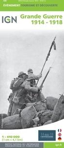 IGN - Grande Guerre 1914-1918 - 1/410 000.