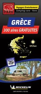 Trailer's Park - Grèce, 300 aires gratuites - 1/700 000.