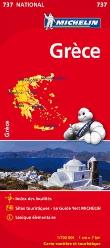 Michelin - Grèce - 1/700 000.