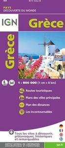 IGN - Grèce - 1/800 000.