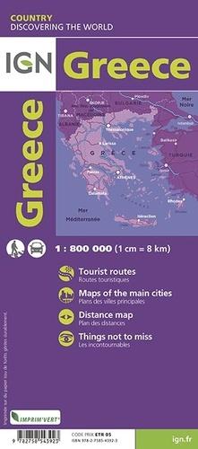 Grèce. 1/800 000