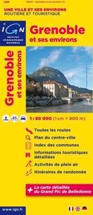 IGN - Grenoble et ses environs - 1/80 000.