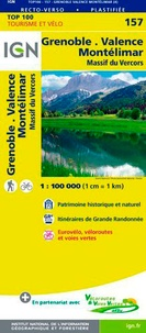 IGN - Grenoble Valence Montélimar - 1/100 000.